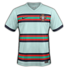 Portugal Euro 2020 maillot exterieur