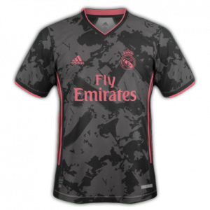 Real Madrid 2021 3eme maillot third supposition