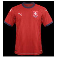 Republique Tcheque Euro 2020 maillot domicile