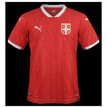 Serbie Euro 2020 maillot domicile
