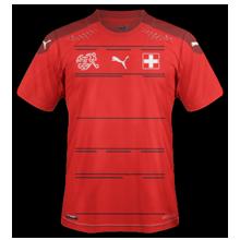 Suisse Euro 2020 maillot domicile football Euro 2021
