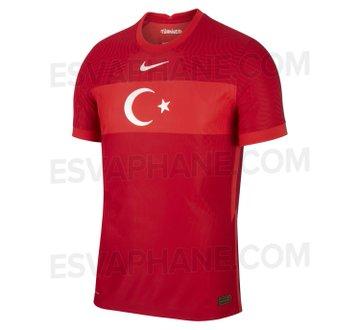 Turquie Euro 2020 maillot de foot exterieur
