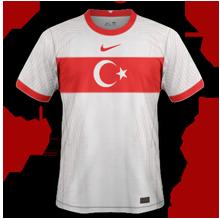 Turquie Euro 2020 maillot domicile
