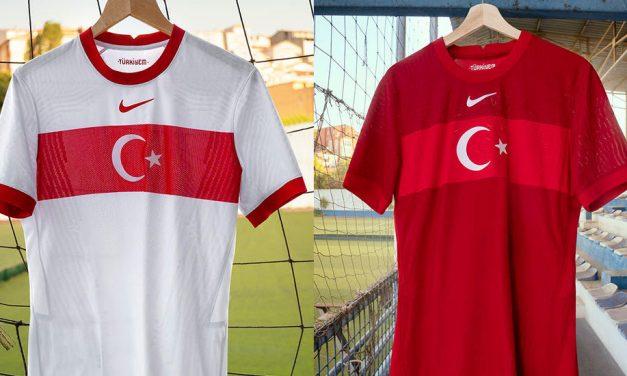 Turquie Euro 2020 les nouveaux maillot de foot