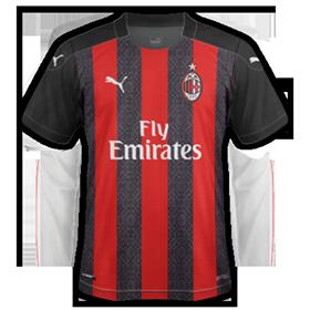 AC Milan 2021 nouveau maillot domicile football