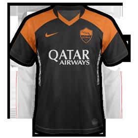 AS Roma troisieme maillot third football