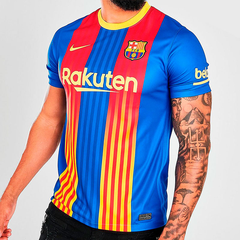 Barcelone 2020 2021 quatrieme maillot fourth Nike officiel