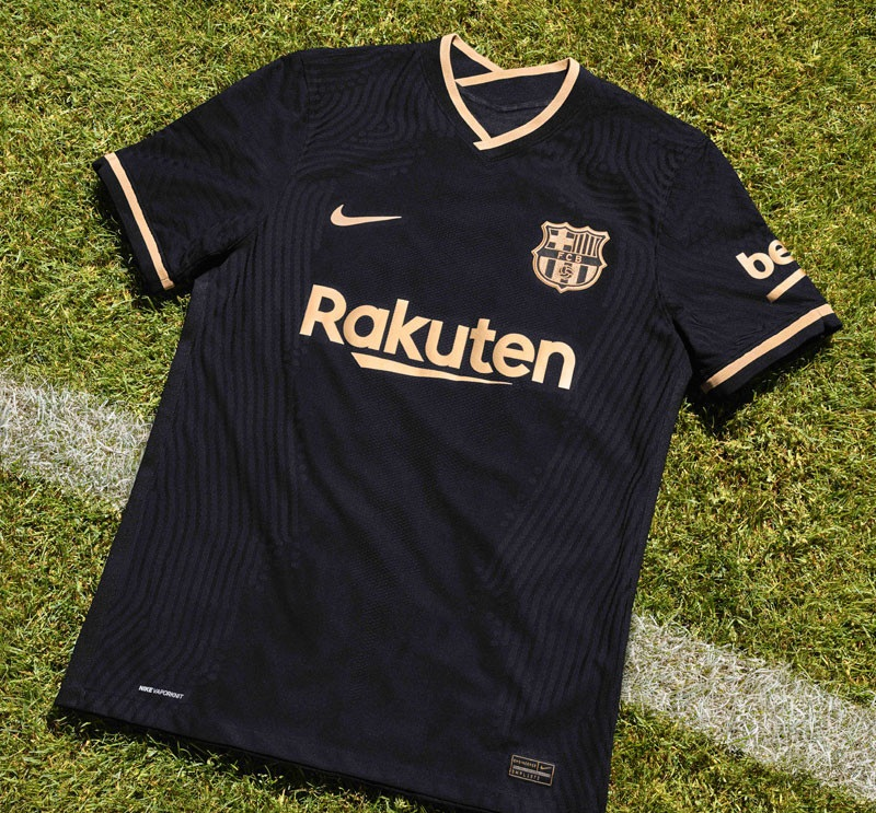 Barcelone 2021 maillot exterieur Nike