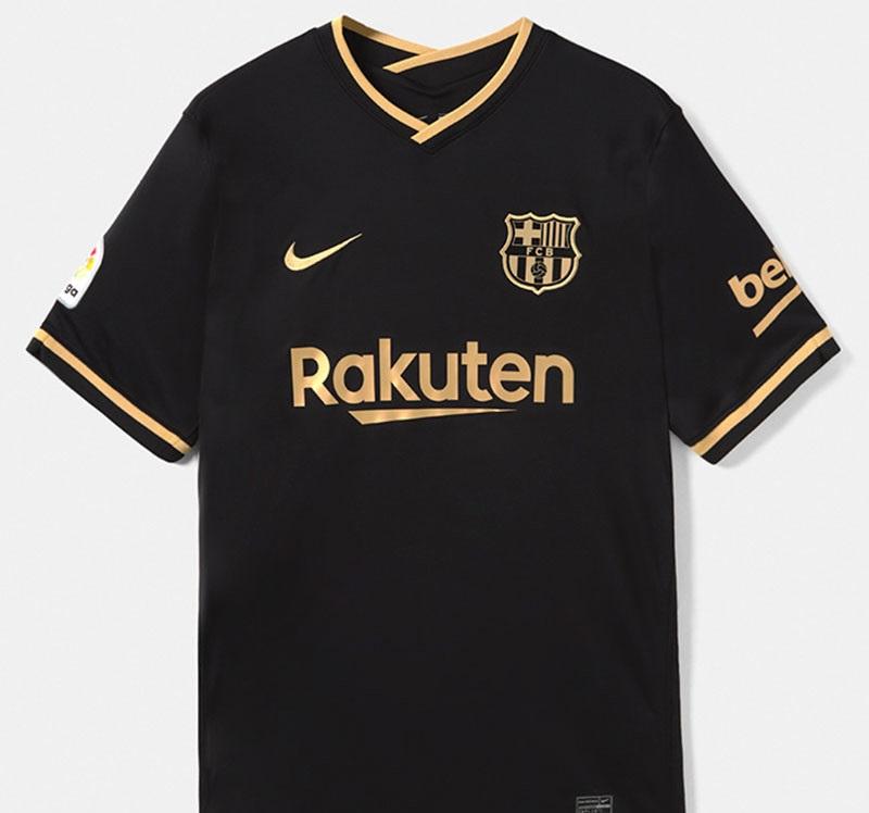 Barcelone 2021 maillot exterieur noir
