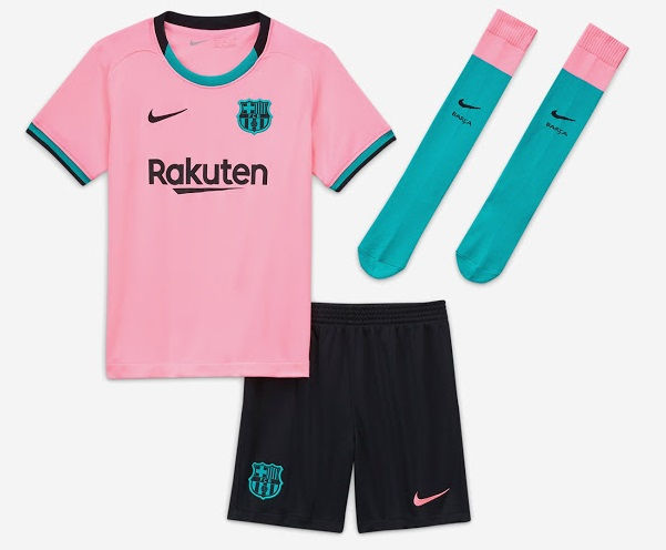 Barcelone 2021 nouveau maillot third officiel Nike