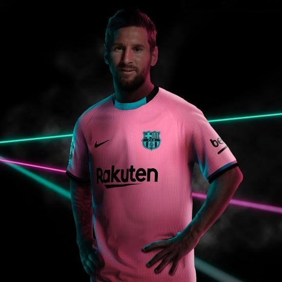 Barcelone 2021 nouveau maillot third
