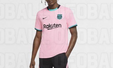 Les 4 nouveaux maillots de foot FC Barcelone 2021