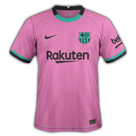 FC Barcelone 2021 3eme maillot third football
