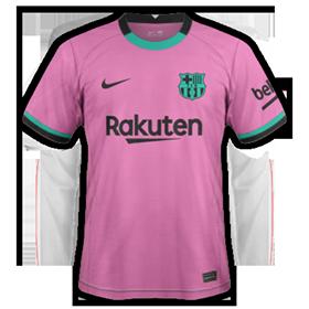 FC Barcelone 2021 3eme maillot third football