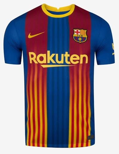 FC Barcelone 2021 4eme maillot fourth Nike