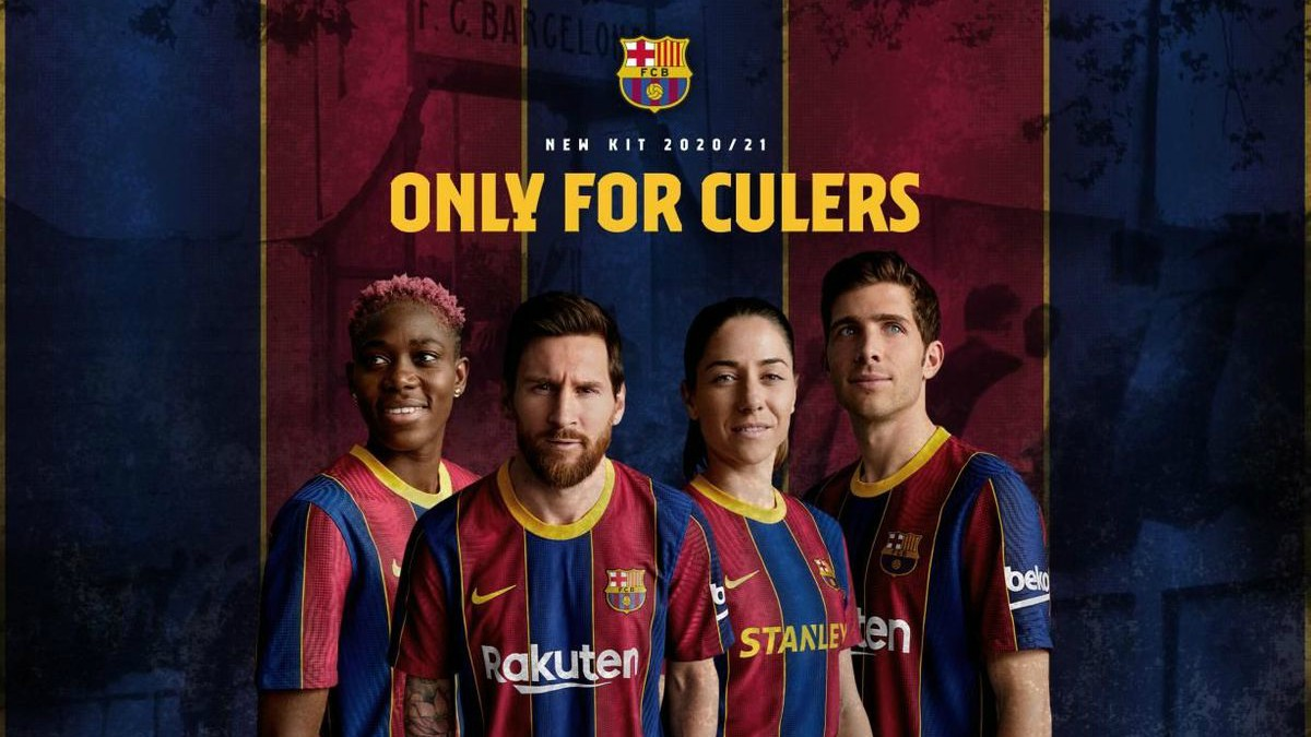 FC Barcelone 2021 maillot de football domicile Nike