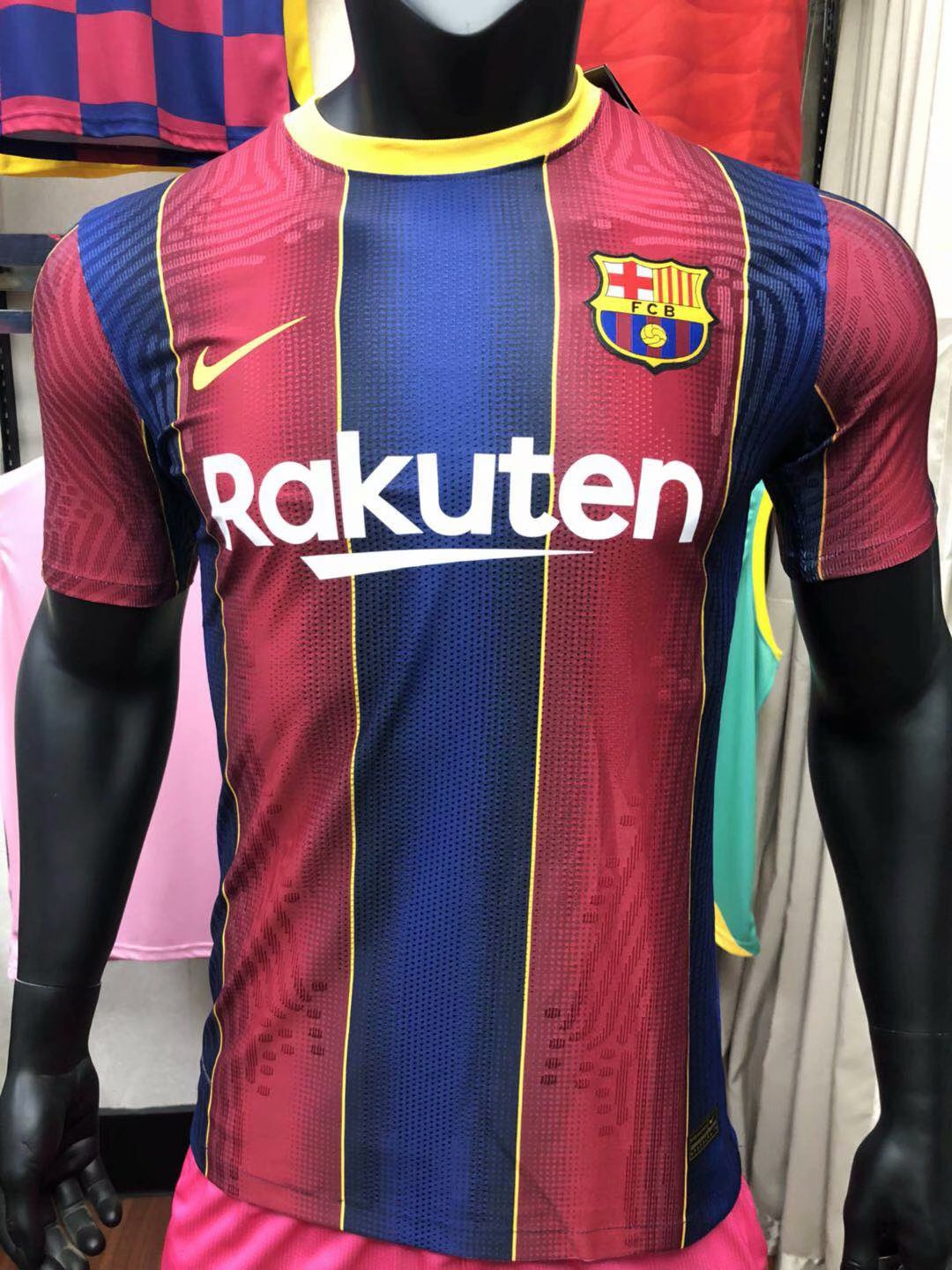 FC Barcelone 2021 maillot domicile football