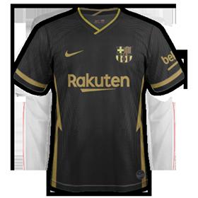 FC Barcelone 2021 maillot exterieur 20 21