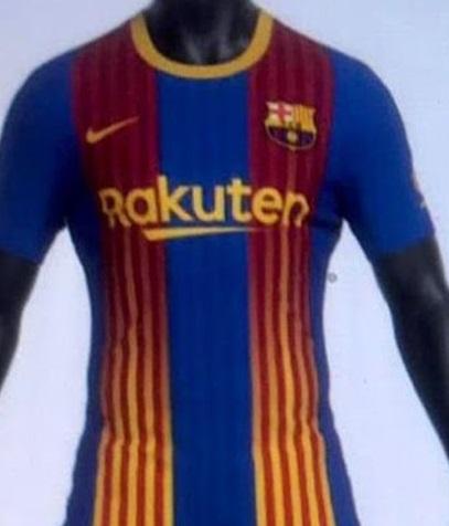 FC Barcelone quatrieme maillot 2021 Senyera