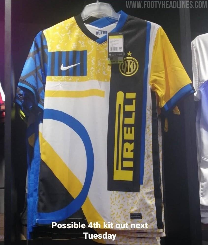 Inter Milan 2020 2021 4eme maillot