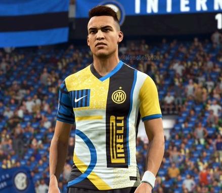 Inter Milan 2021 4eme maillot fourth