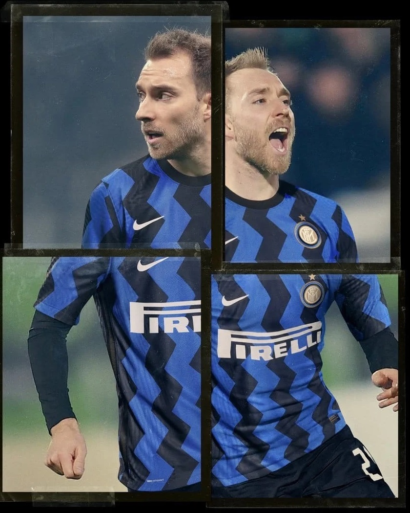 Inter Milan 2021 maillot de foot domicile