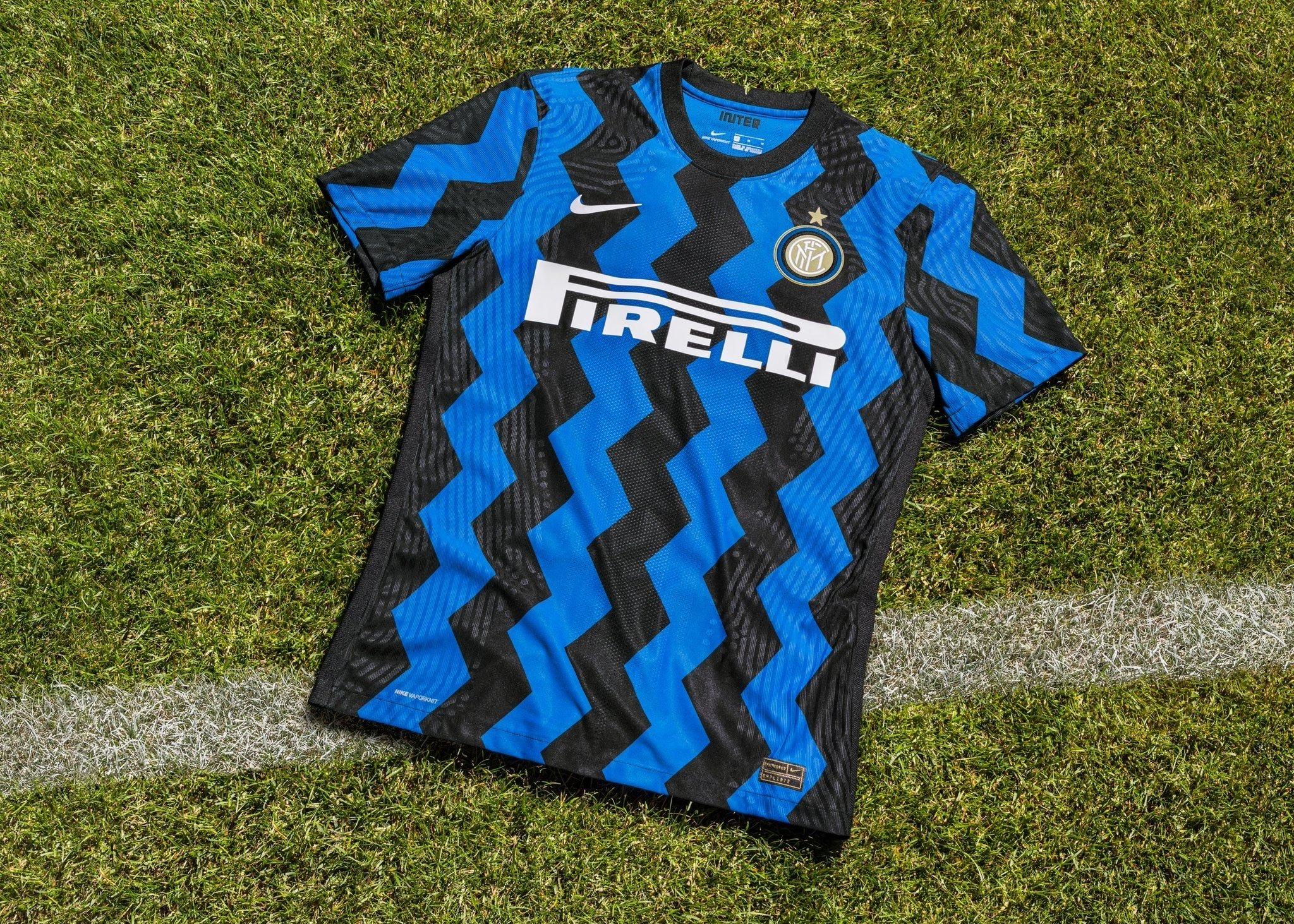 Inter Milan 2021 maillot domicile officiel