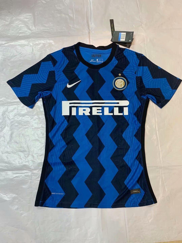 Inter Milan 2021 nouveau maillot domicile foot
