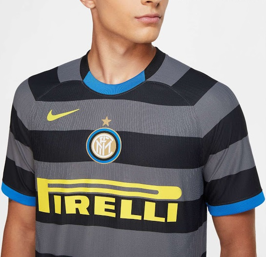 Inter Milan 2021 troisieme maillot third Nike officiel