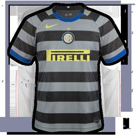 Inter Milan 2021maillot third possible