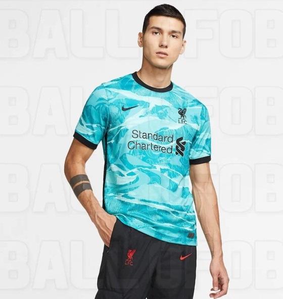 Liverpool 2020 2021 maillot exterieur