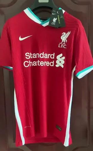 Liverpool 2021 maillot de foot domicile Nike