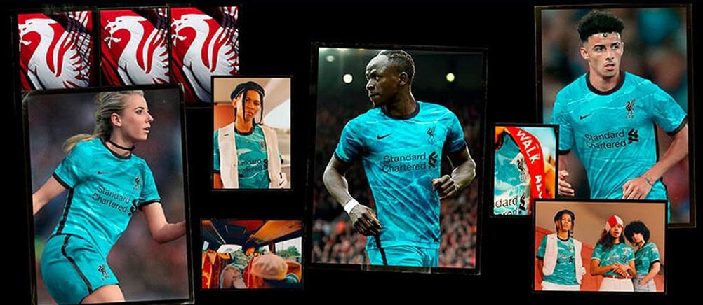 Liverpool 2021 maillot exterieur officiel