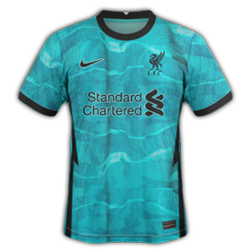 Liverpool 2021 maillot exterieur foot 20 21