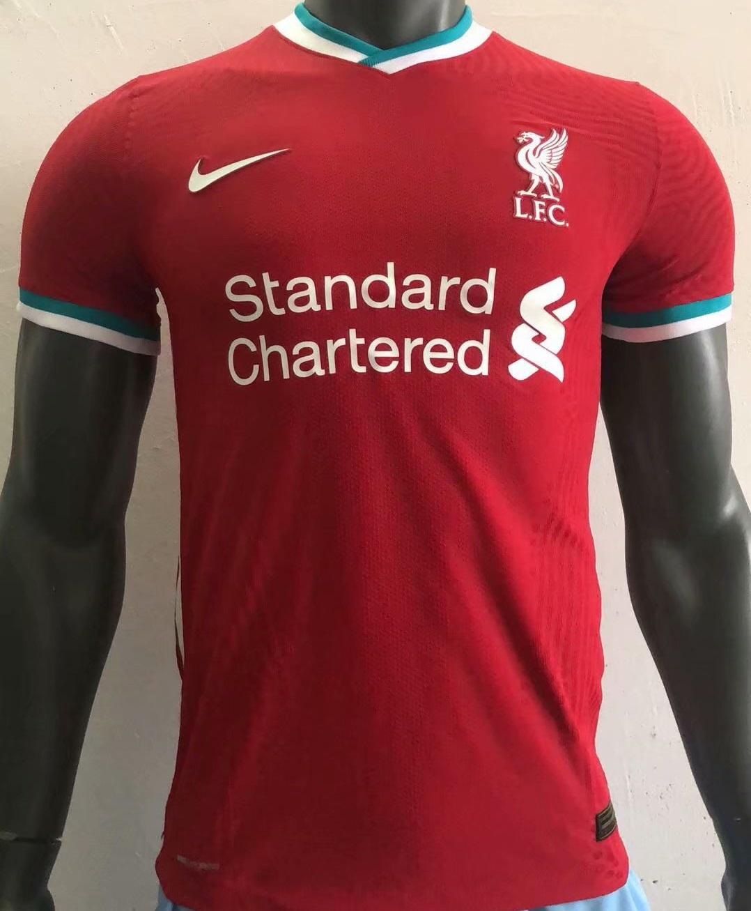 Liverpool 2021 nouveau maillot domicile football
