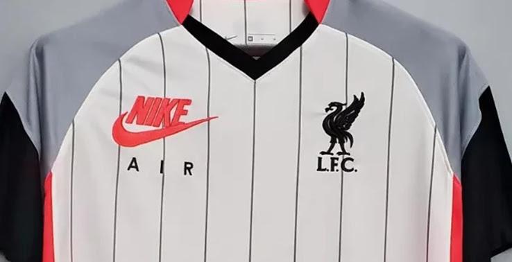 Liverpool 2021 quatrieme maillot foot