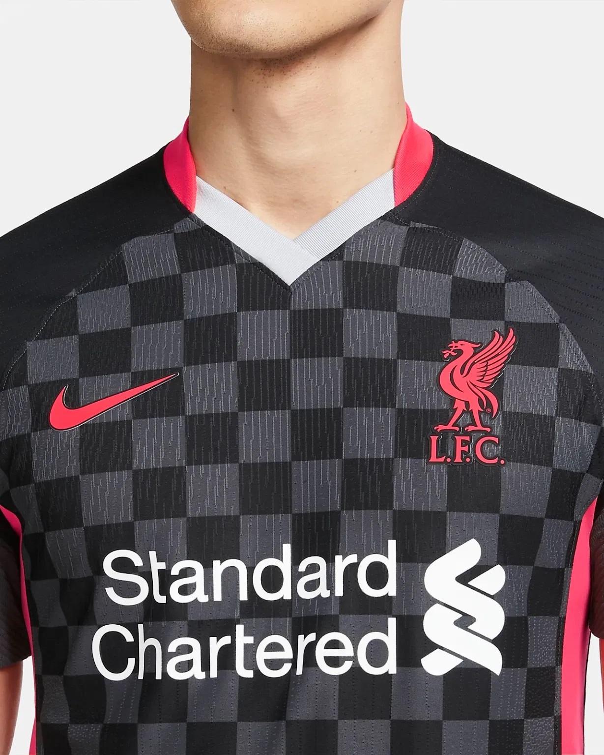 Liverpool 2021 troisieme maillot third Nike