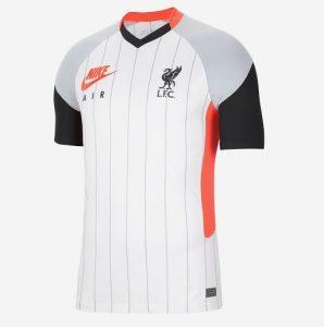 Liverpool 4eme maillot airmax 2020 2021 officiel