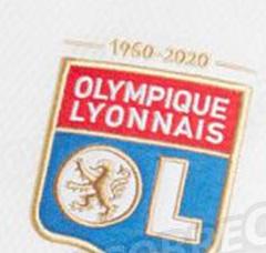 Nouveau blason OL 2020 2021 60ans Lyon