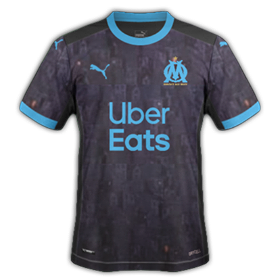 OM 2021 maillot exterieur 20-21 Marseille