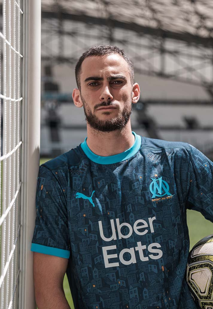 OM 2021 maillot exterieur Olympique Marseille