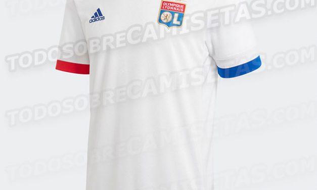 Infos maillots de foot Lyon 2020-2021 OL