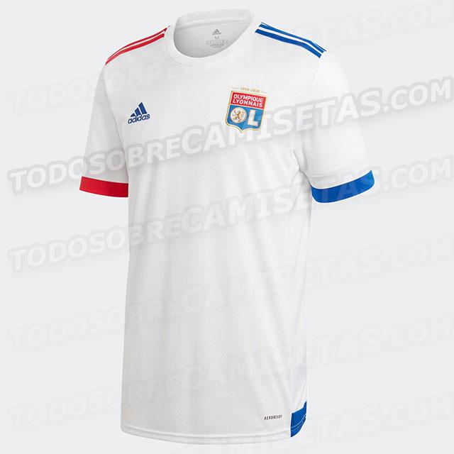 Olympique Lyonnais 2021 maillot domicile foot OL