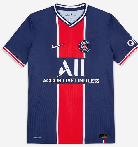 PSG 2021 maillot de foot domicile officiel