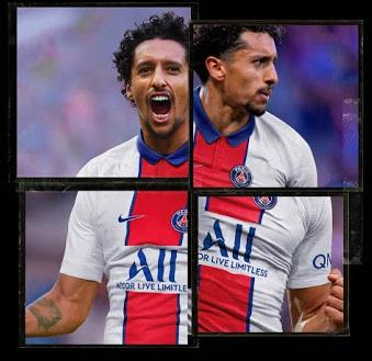 PSG 2021 maillot exterieur Marquinhos