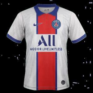 PSG 2021 maillot exterieur Paris Saint Germain