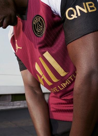 PSG 2021 maillot third Nike