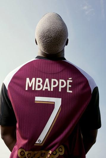 PSG 2021 nouveau maillot third MBAPPE