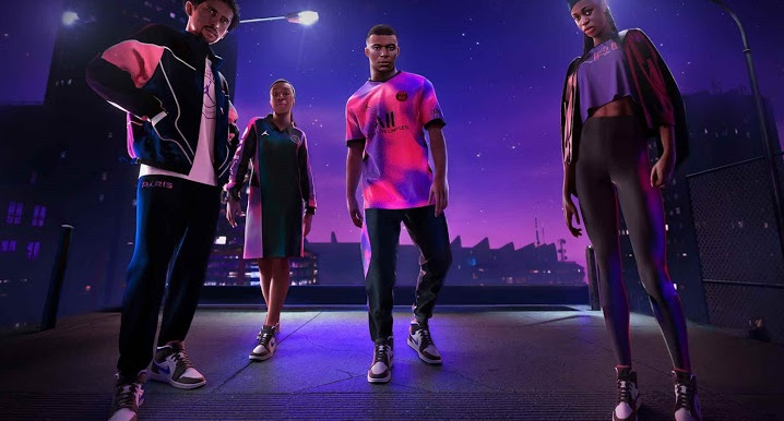 PSG 4eme maillot Nike