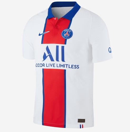 Paris 2021 maillot de foot exterieur